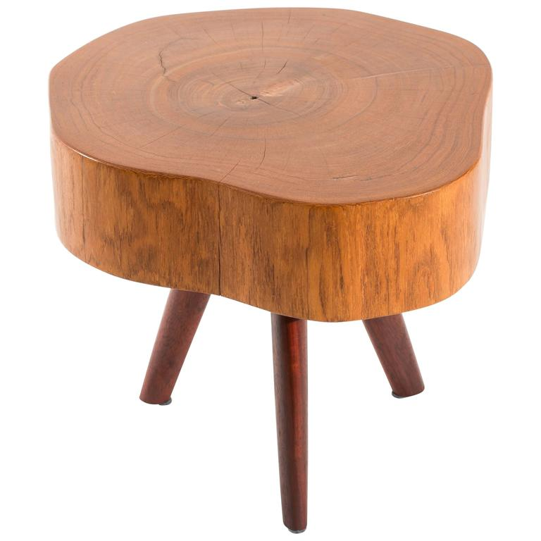Unique signed side table by j rg pietschmann for sale at for Unique side tables