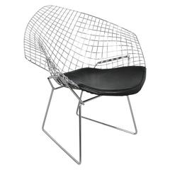 Chrome Diamond Chair by Harry Bertoia, 1952