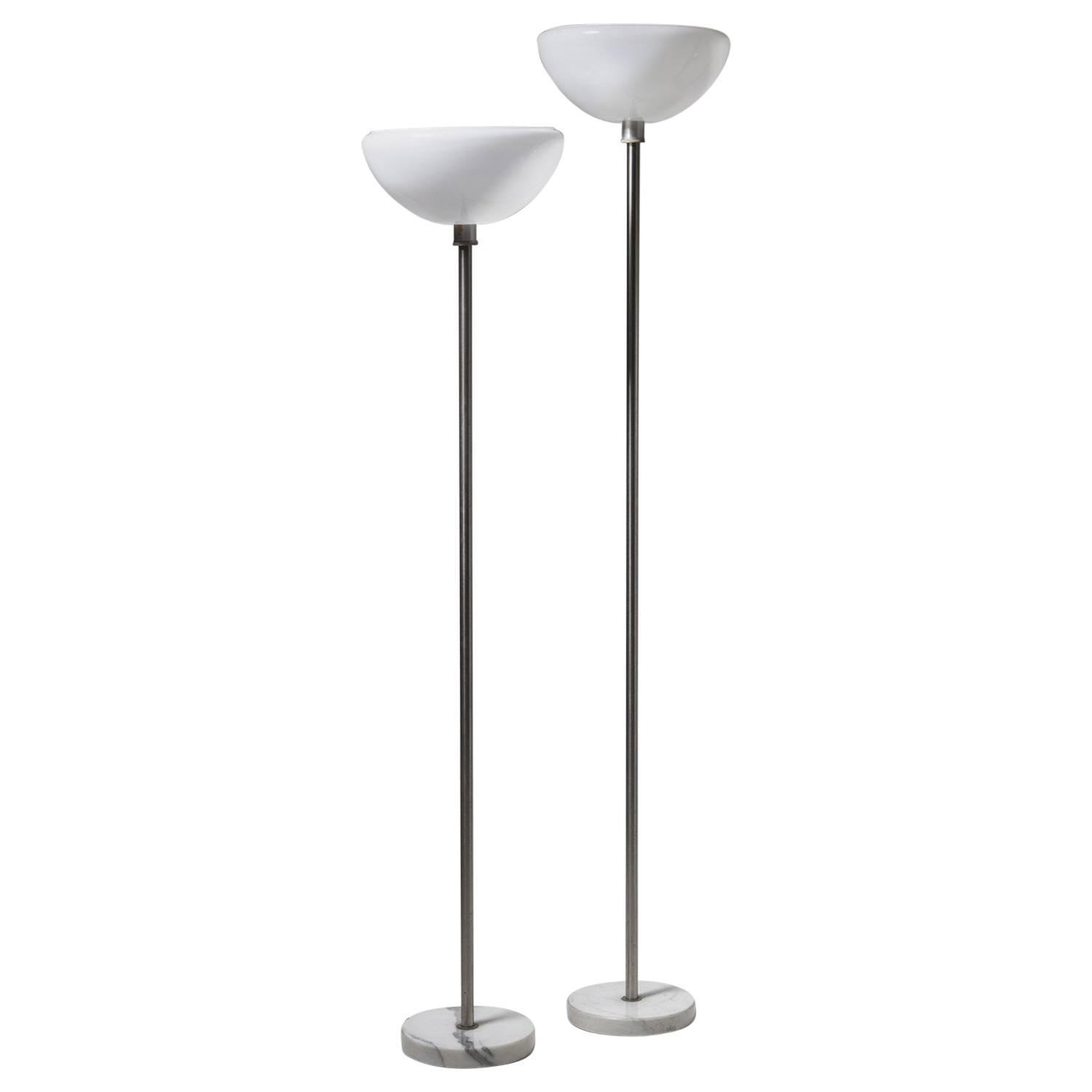 Achille and castiglioni toio floor lamp for sale at 1stdibs pair of papavero floor lamps by castiglioni for flos aloadofball Gallery