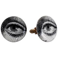 Pair of Rare Piero Fornasetti Cufflinks