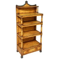 Painted Tiered Bookcase