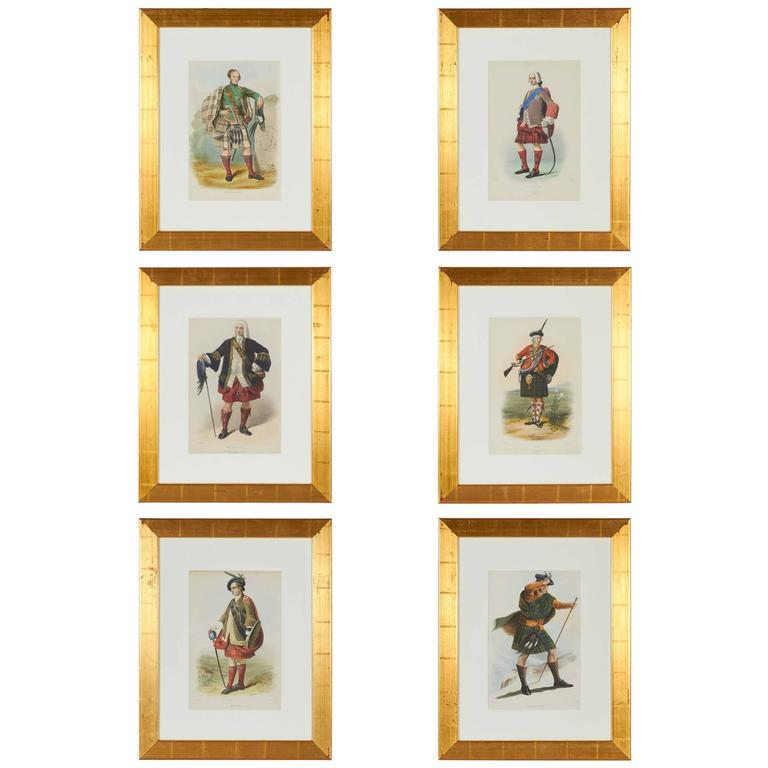 Group Of Vintage Scottish Prints For Sale At 1stdibs