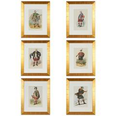 Group of Vintage Scottish Prints