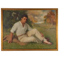 Portrait of a Young Man in His Sunday Finest, Albert Herter