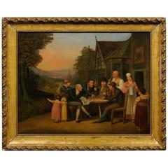 19th Century German/Dutch Oil Painting
