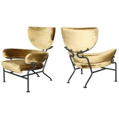 Lounge Chairs by Franco Albini and Franca Helg