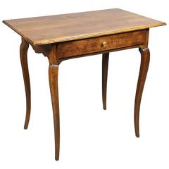 Louis XV Provincial Walnut Side Table