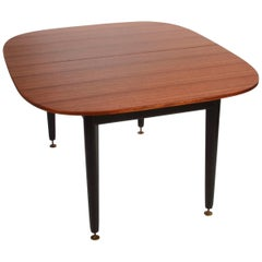 Early G-Plan Dining Table by E Gomme in Mahogany and Black