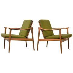 Fredrik Kayser Reclining Lounge Chairs