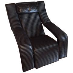 Ammannati Vitelli Kilkis Lounge Chair Brunati, 1985