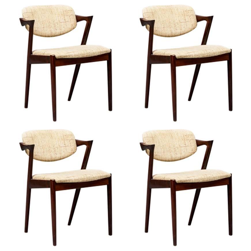 Chairs by Kai Kristiansen Model 42