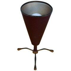 Midcentury Italian Petite Tripod Table Lamp, 1950s