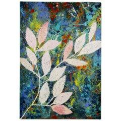 Botanical Sgraffito Painting