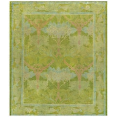 Early 20th Century Voysey Donegal Rug from Ireland