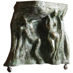 Sculptural Side Table by Philip & Kelvin Laverne