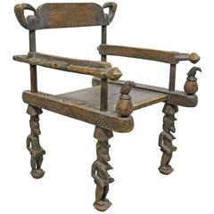 Ceremonial Fertility Chair of the Senufo People, West Africa