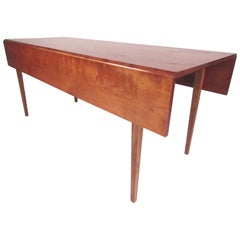 Large Drop Leaf Table in Cherry