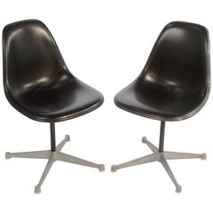 Pair of Early Herman Miller Eames Chairs