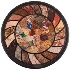 Grand Tour Specimen Marbles Roundel