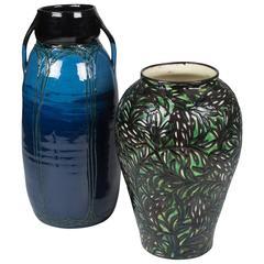 Two Max Laeuger Ceramic Vases