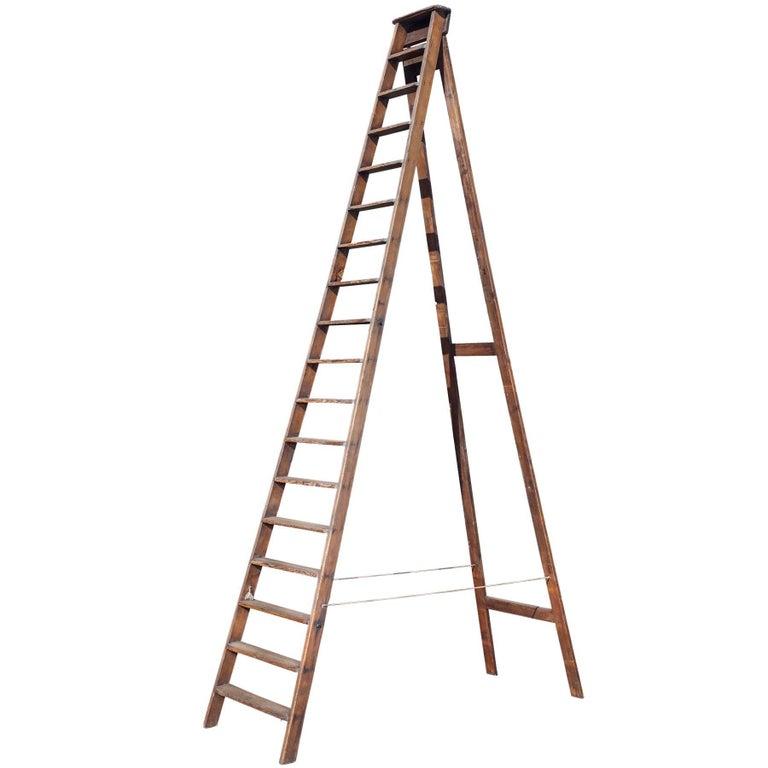 Victorian Workman's Ladder