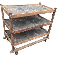 1920s-1930s Shoe Rack or Cart