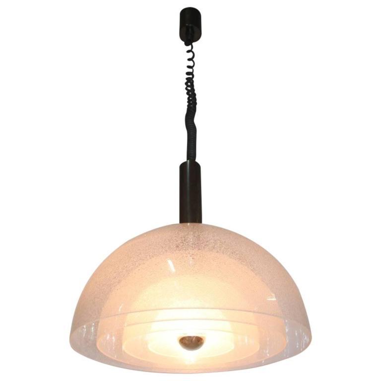 Mazzega Ceiling Lamp 1970s Pop Art