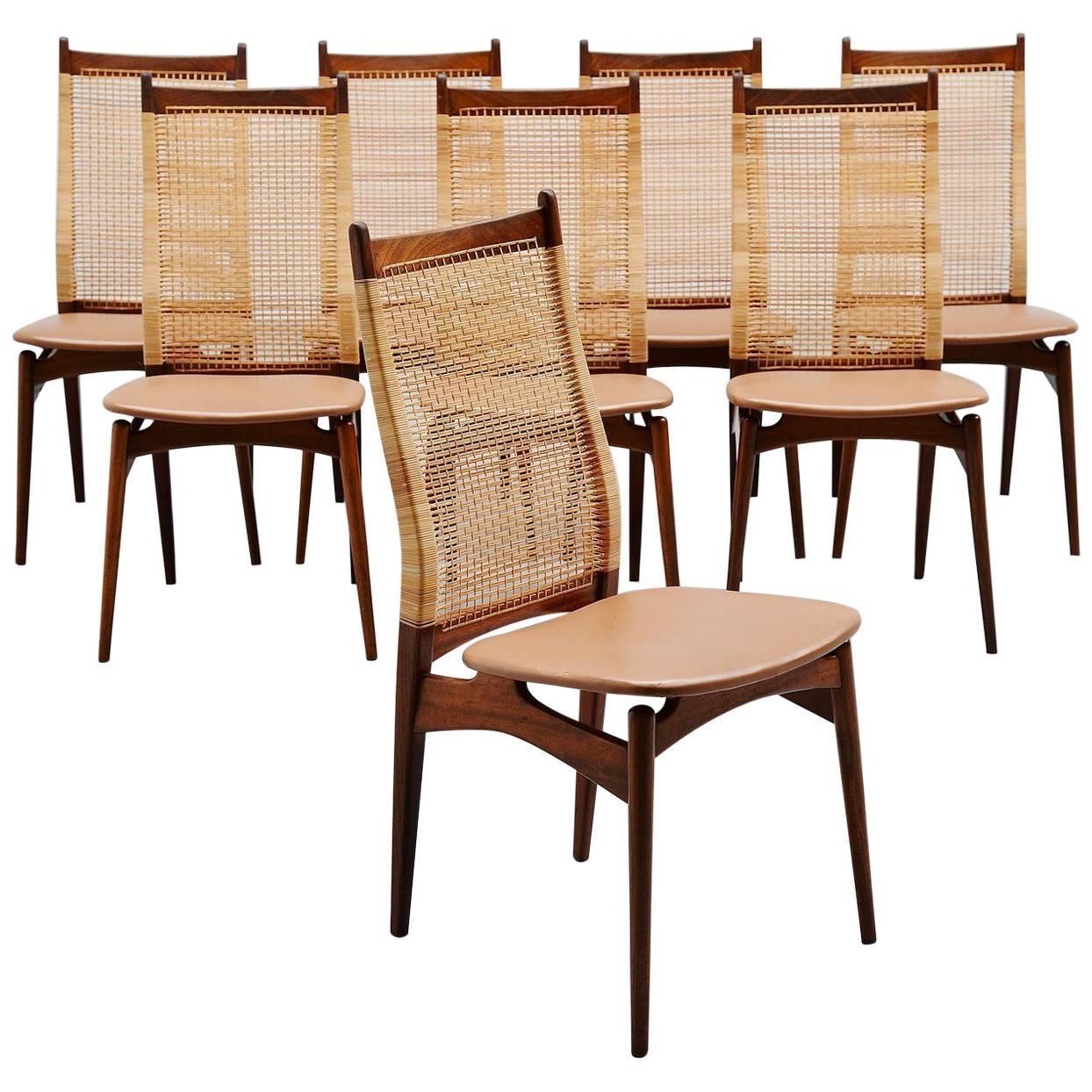 Jos De Mey Dining Chairs Van Den Berghe Pauvers, Belgium, 1957 at 1stdibs - Jos De Mey Dining Chairs Van Den Berghe Pauvers, Belgium, 1957 At