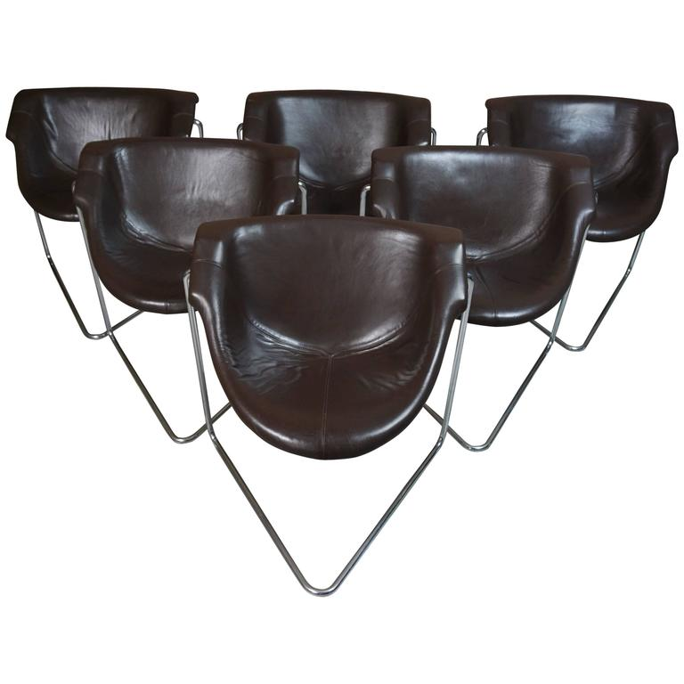 """Suite of Six Seats """"Pussycat"""" Design by Kwok Hoi Chan"""