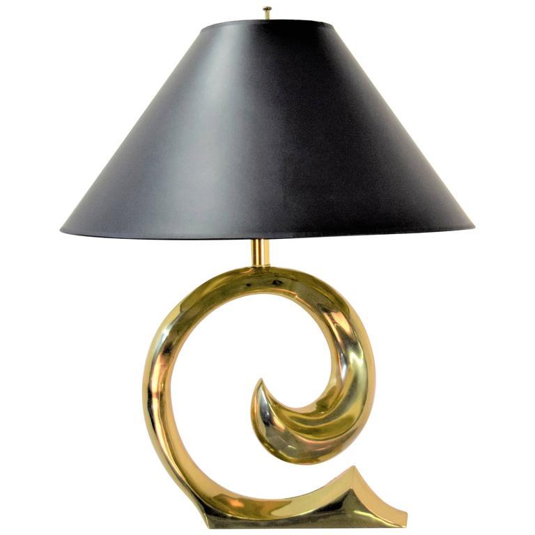 Pierre Cardin table lamp, 1970s