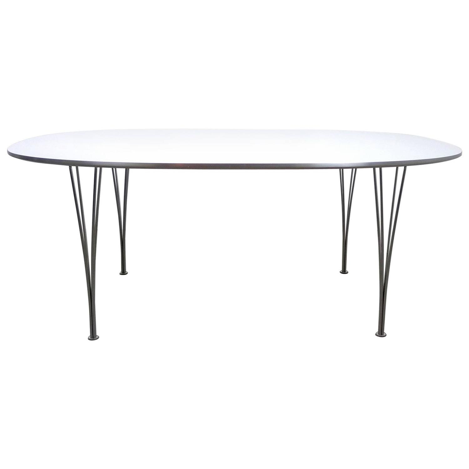 U0027Super Circleu0027 Conference Or Dining Table By Piet Hein For Sale At 1stdibs