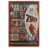 """Zulu"" Original US Movie Poster"