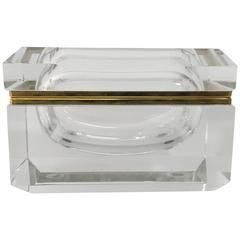 Alessandro Mandruzzato Faceted Italian Glass Box