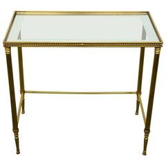 Hollywood Regency Bronze Table by Maison Jansen