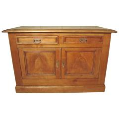19th Century Rustic Cherry French Dresser, from Brittany, France