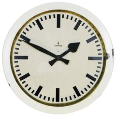 Siemens Halske Factory, Workshop or Train Station Clock