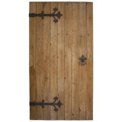 Antique English Gothic Door