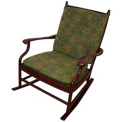 Vintage Rosewood Rocking-Chair from Simmons