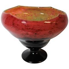 Daum Nancy Art Nouveau Glass Vase