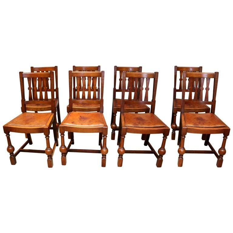 this set of eight oak dining chairs is no longer available