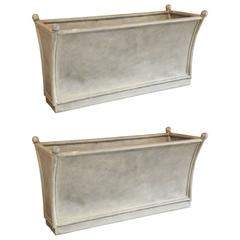 Pair of Vintage French Planters