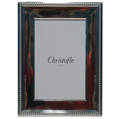 Christofle Silver Plate Picture or Photo Frame, France