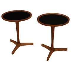 Pair of Danish Teak Hans Andersen Side Tables