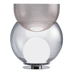 """Giova"" Table Lamp + Flower Pot Designed by Gae Aulenti for FontanaArte"