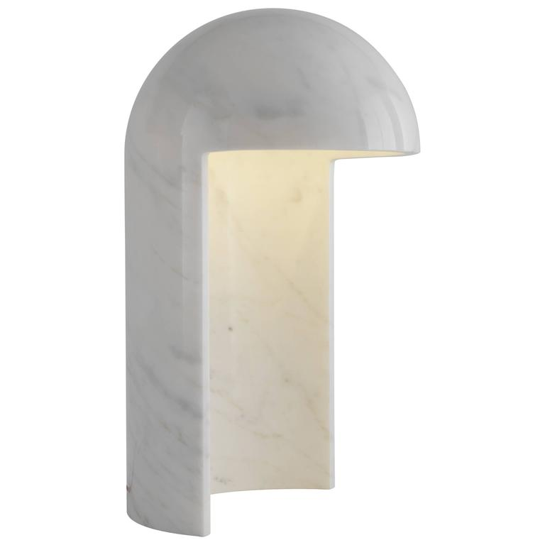 Milano 2015 Marble Table Lamp Designed by Carlo Colombo for Fontana Arte For Sale