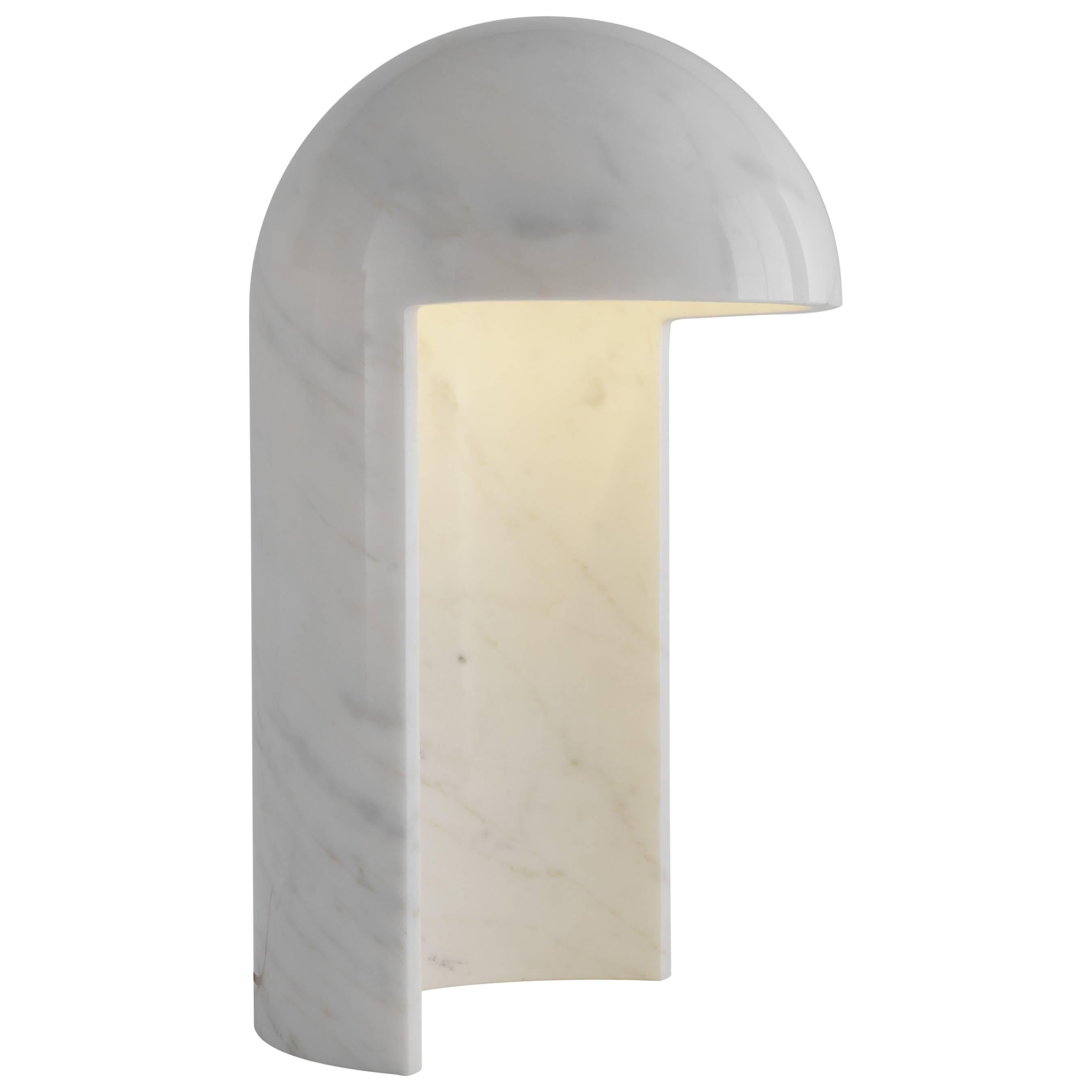 Milano 2015 Marble Table Lamp Designed by Carlo Colombo for Fontana Arte