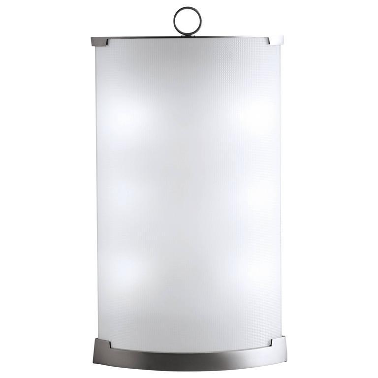 Gio Ponti Fontana Arte Pirellina Table Lamp in Plated Brass, designed in 1967