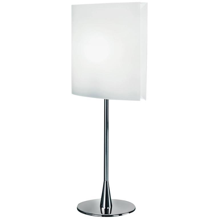 Pierluigi Cerri Fontana Arte Sara Table Lamp Aluminum and Metal, Designed 1994
