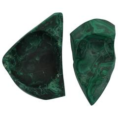 Green Malachite Desk Vessel or Jewelry Dish