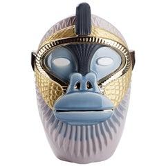Primates Kandti Ceramic Vase Designed by Elena Salmistraro for Bosa